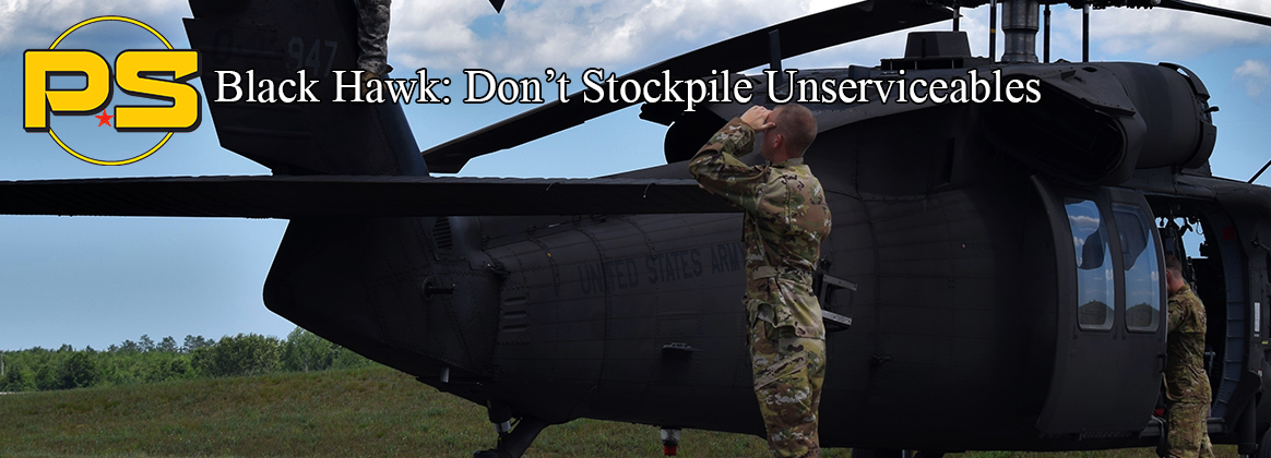 Black Hawk: Don't Stockpile Unserviceables